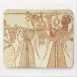 Ritual scene of worship mouse pad