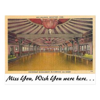 Ritz Ballroom, Bridgeport, Connecticut Postcard