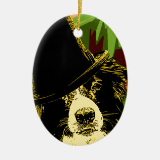 Ritz Dog Ceramic Ornament