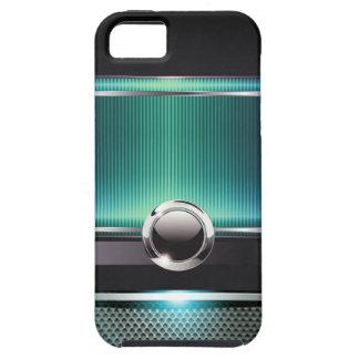 Ritzy Euro Sleek designer phone case (aqua) iPhone 5 Covers