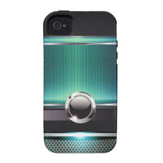 Ritzy Euro Sleek designer phone case (aqua) Vibe iPhone 4 Case