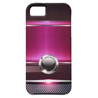 Ritzy Euro Sleek designer phone case (fuschia) iPhone 5 Covers