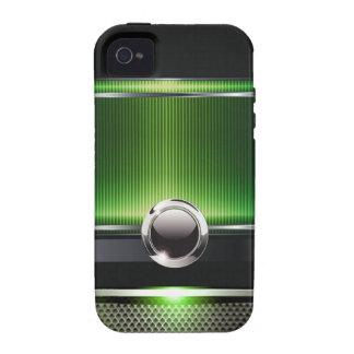 Ritzy Euro Sleek designer phone case (green) Case-Mate iPhone 4 Cover