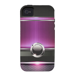 Ritzy Euro Sleek designer phone case (orchid) iPhone 4/4S Cases
