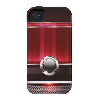 Ritzy Euro Sleek designer phone case (red) Case-Mate iPhone 4 Covers