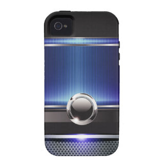 Ritzy Euro Sleek designer phone case (sapphire) Vibe iPhone 4 Cover