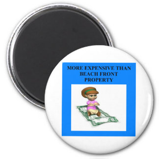 ritzy woman 2 inch round magnet