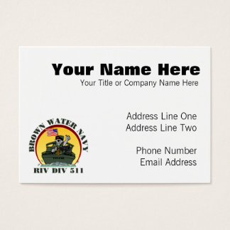 Riv Div 511 Business Card