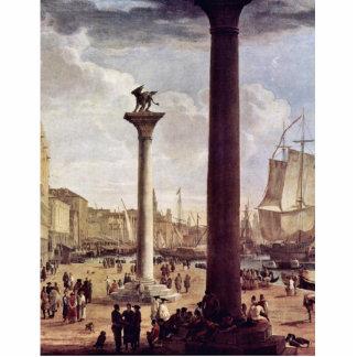 Riva Degli Schiavoni, con el palacio de los duxes  Fotoescultura Vertical