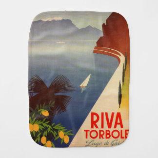 Riva Torbole, Lago di Garda Baby Burp Cloth
