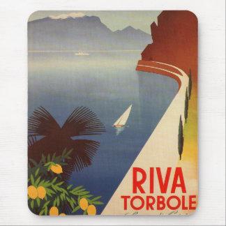 Riva Torbole, Lago di Garda Mouse Pad