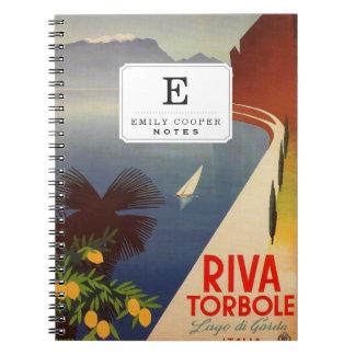 Riva Torbole, Lago di Garda Notebook