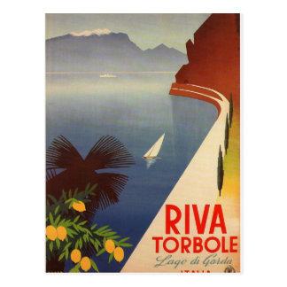 Riva Torbole, Lago di Garda Postcard