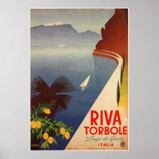 Riva Torbole, Lago di Garda Poster