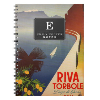 Riva Torbole, Lago di Garda Spiral Notebook