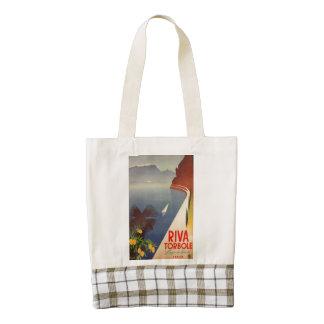 Riva Torbole, Lago di Garda Zazzle HEART Tote Bag