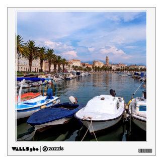 Riva waterfron, Split, Croatia Wall Sticker
