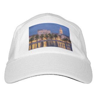 Riva waterfront, Split, Croatia Headsweats Hat