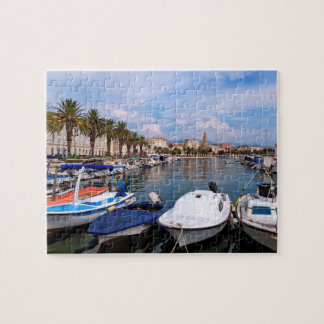 Riva waterfront, Split, Croatia Jigsaw Puzzle