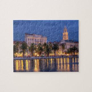 Riva waterfront, Split, Croatia Jigsaw Puzzle