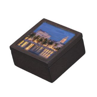 Riva waterfront, Split, Croatia Keepsake Box