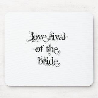 Rival del amor de la novia tapete de ratones