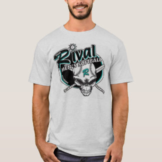 Rival del equipo - w/logo gris playera