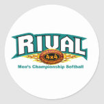 Rival HCP 4x4 Label Stickers