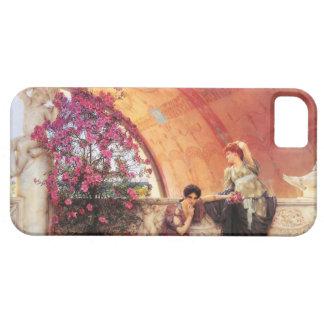 Rivales inconscientes de Lorenzo Alma Tadema iPhone 5 Cárcasa