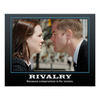 Rivalry... Poster