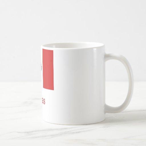 Rivas Mexican Flag Coffee Mugs