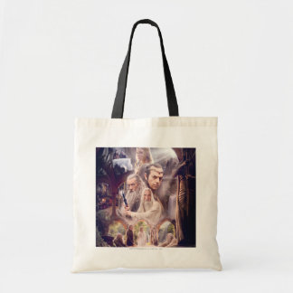 Rivendell Character Collage Budget Tote Bag