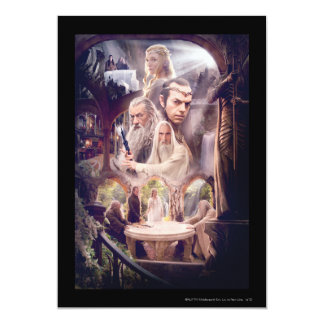Rivendell Character Collage Card