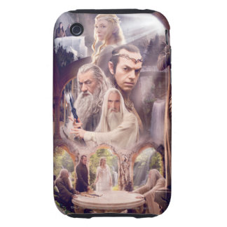 Rivendell Character Collage iPhone 3 Tough Cover
