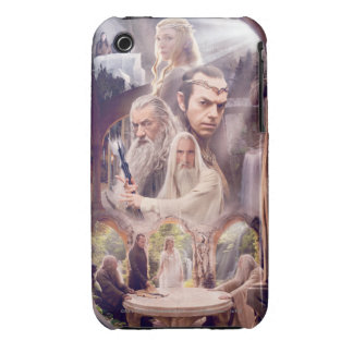 Rivendell Character Collage iPhone 3 Case-Mate Case