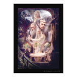Rivendell Character Collage 5x7 Paper Invitation Card