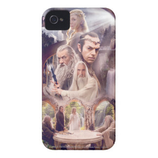 Rivendell Character Collage iPhone 4 Case