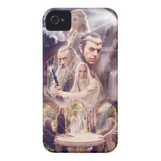 Rivendell Character Collage iPhone 4 Case-Mate Case
