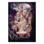 Rivendell Character Collage Poster