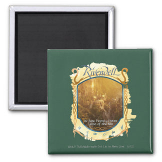 Rivendell Graphic 2 Inch Square Magnet