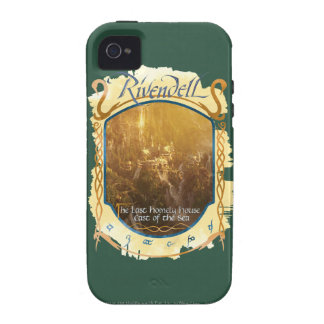 Rivendell Graphic iPhone 4 Cases
