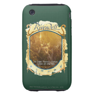 Rivendell Graphic iPhone 3 Tough Case