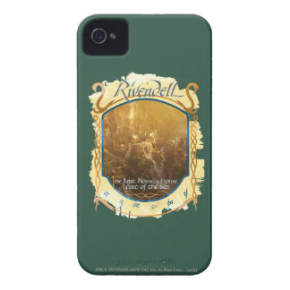 Rivendell Graphic iPhone 4 Case
