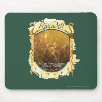 Rivendell Graphic Mouse Pad