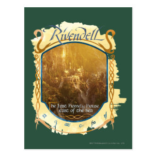 Rivendell Graphic Postcard