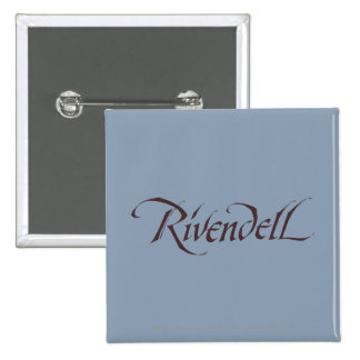 Rivendell Name Solid Button