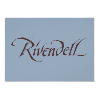 Rivendell Name Solid Card