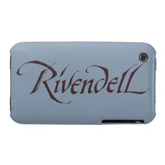 Rivendell Name Solid iPhone 3 Case