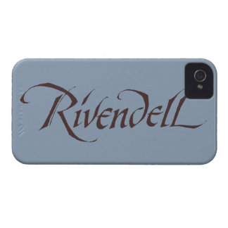Rivendell Name Solid Case-Mate iPhone 4 Case