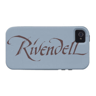 Rivendell Name Solid Vibe iPhone 4 Cover